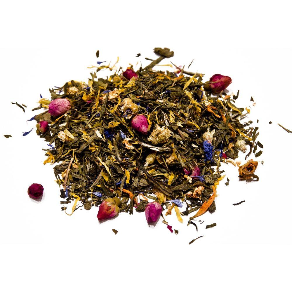 Цветочный танец - Sencha tea