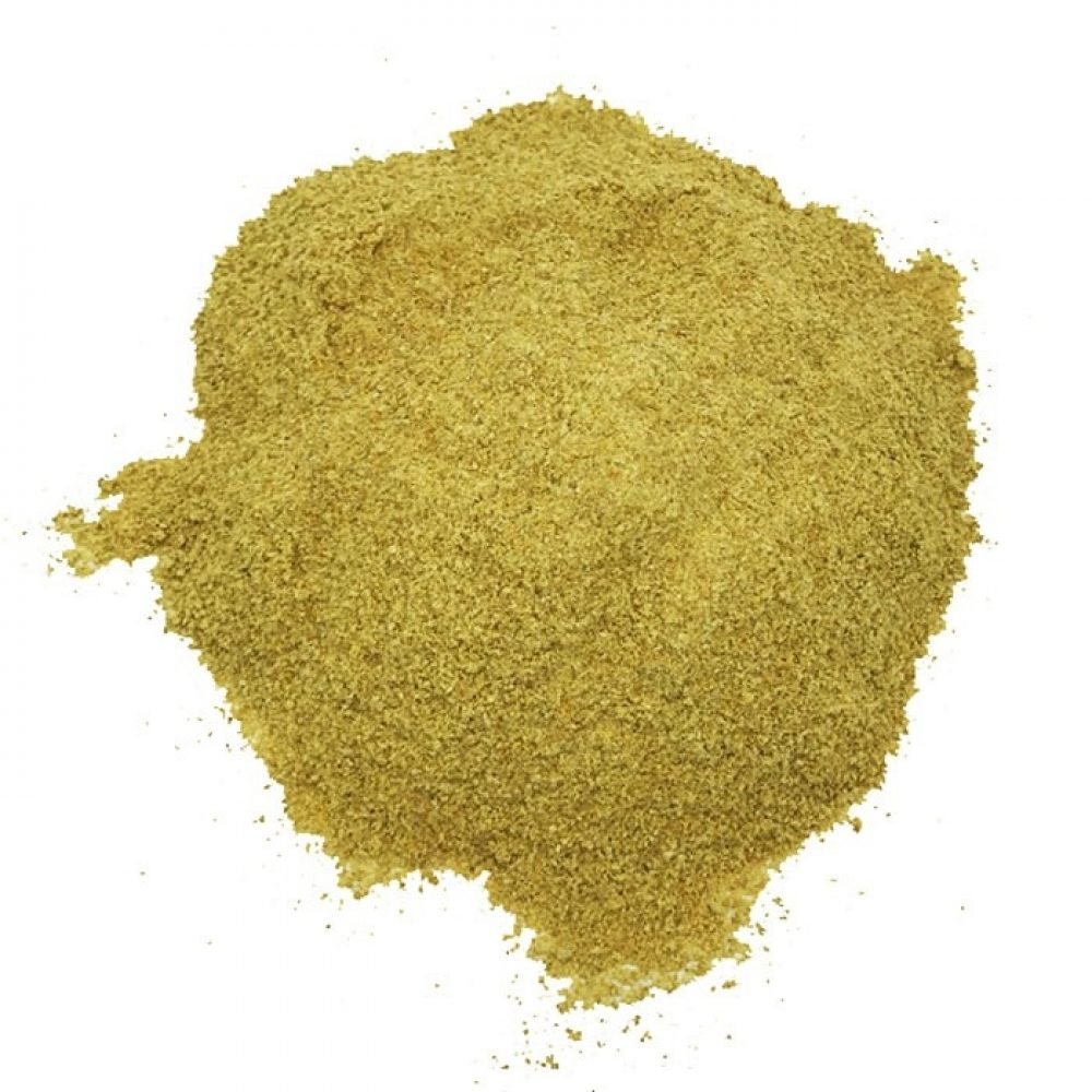 Fenugreek ground (Trigonella foenum)