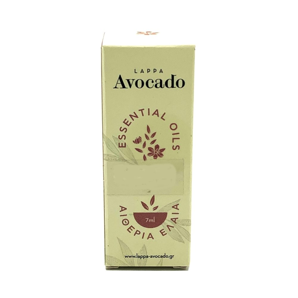 Αιθέριο έλαιο Βανίλια (Lappa Avocado 7ml)