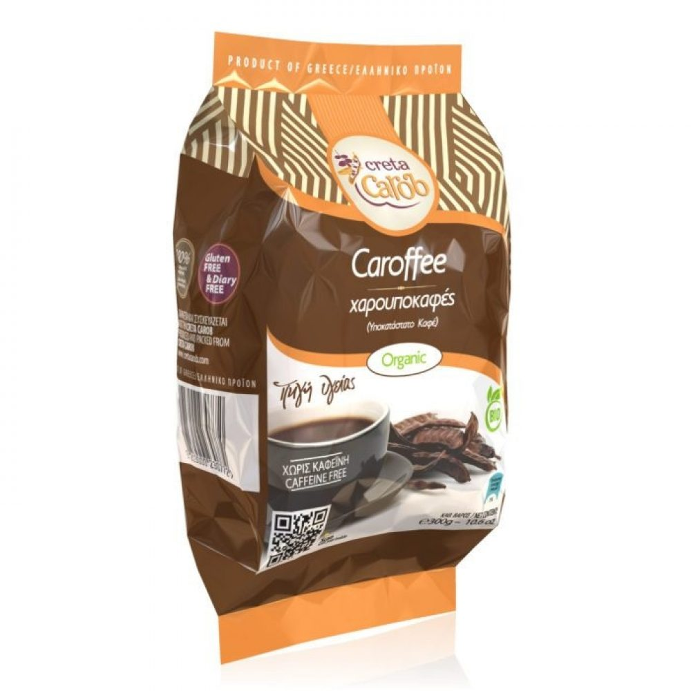 Coffee substitute from Cretan carobs - Carofee (300g)