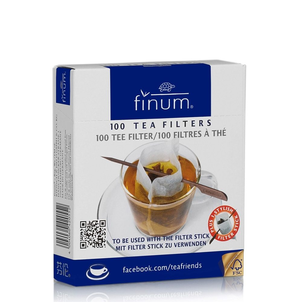 Finum Cup Size filters with stick