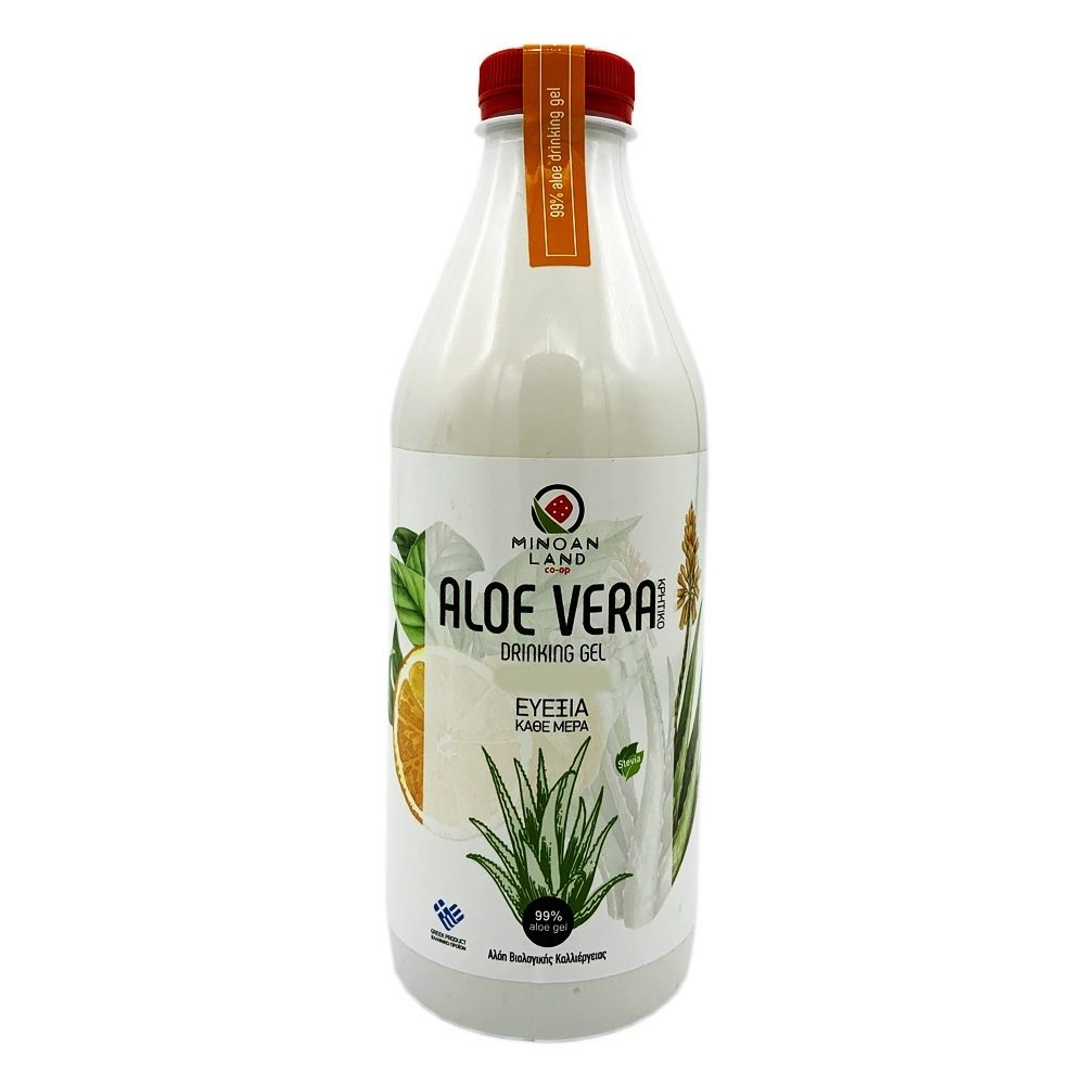 Cretan Aloe vera juice Orange flavor (1000ml)