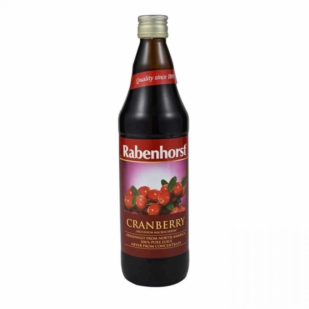 100% pure Cranberry juice Sugar free (750ml)