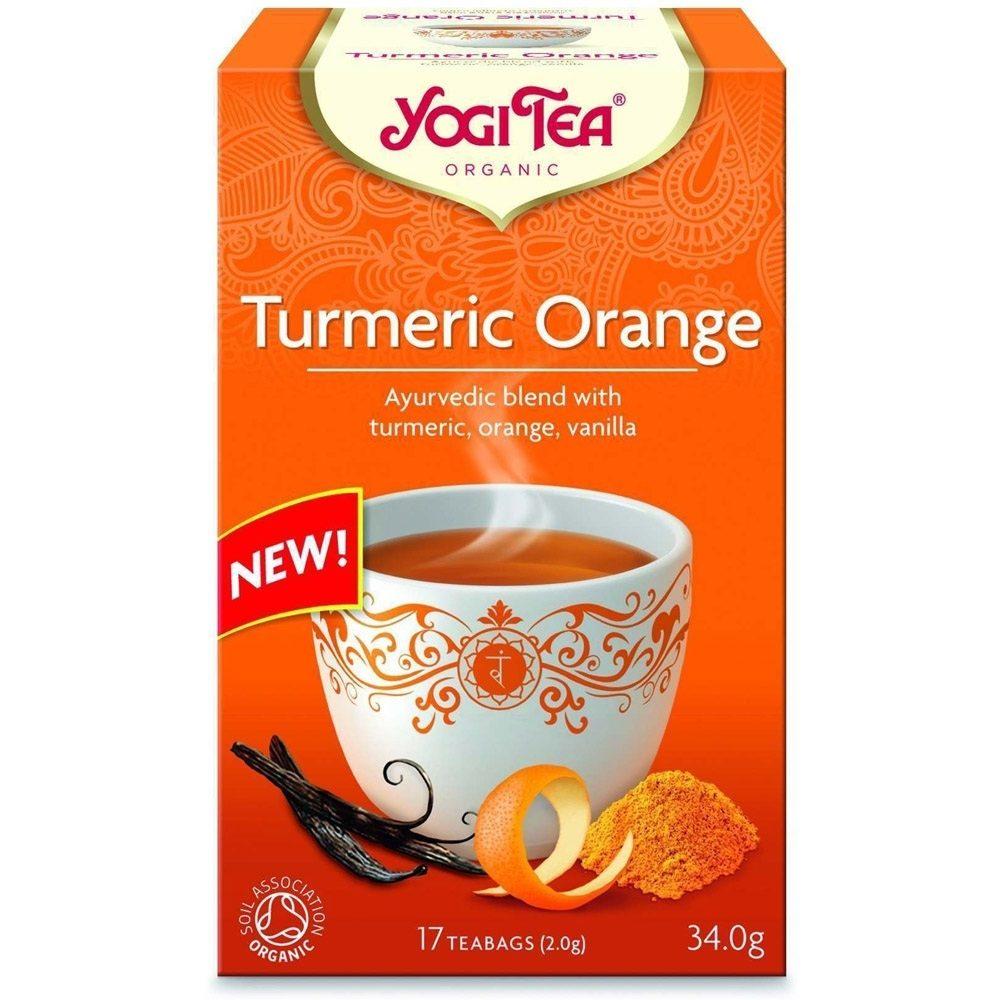 Yogi tea Κουρκουμάς - Κανέλα Turmeric Chai (Βιολογικό) copy