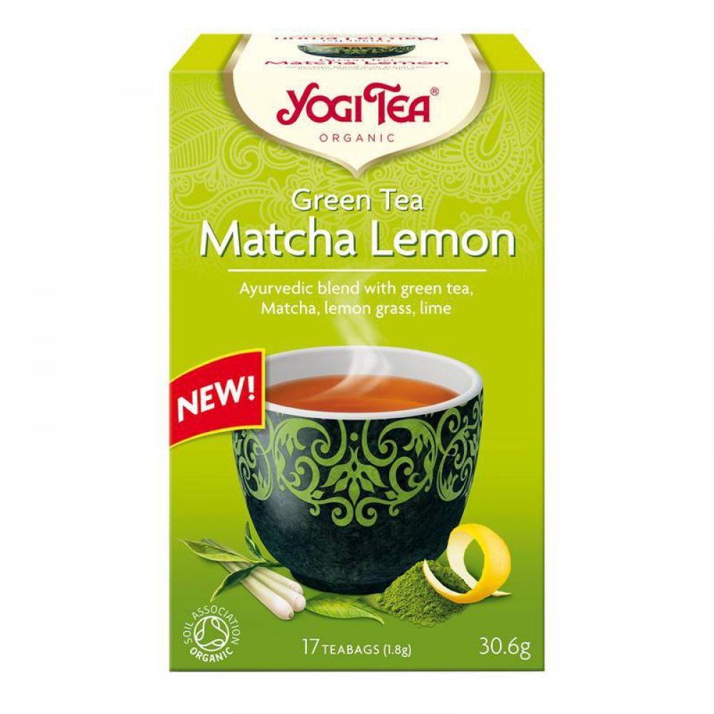 Yogi tea organic Matcha Lemon Green Tea