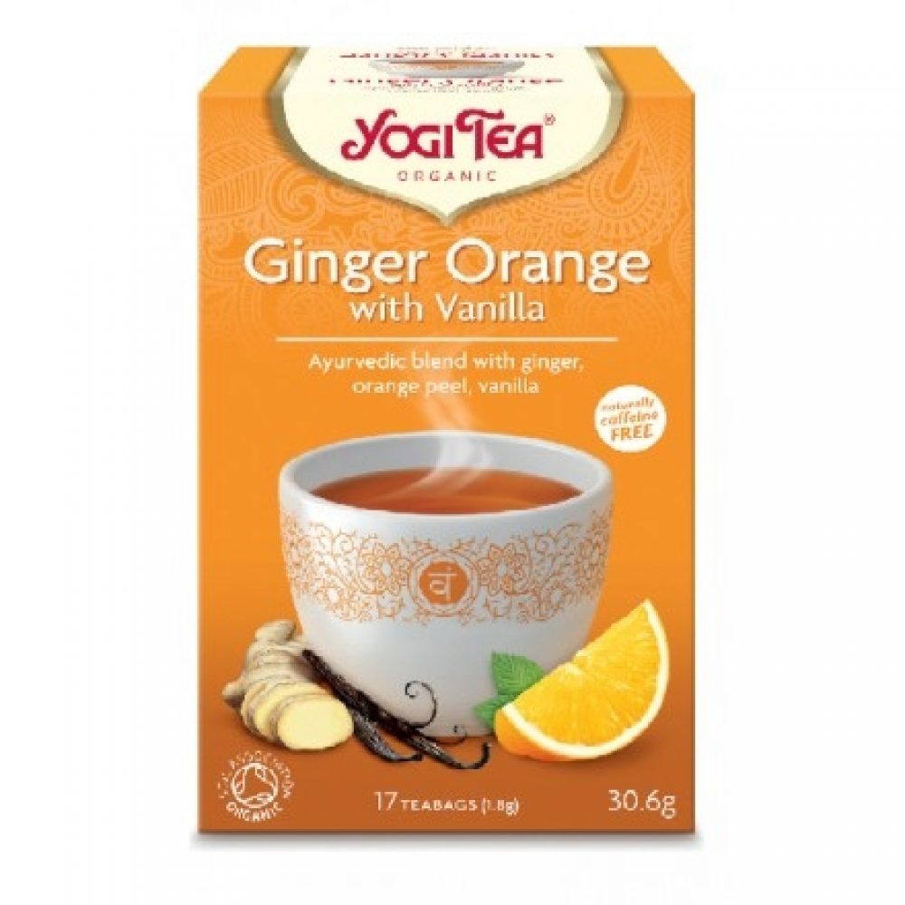 Yogi tea organic Ginger Orange with Vanilla