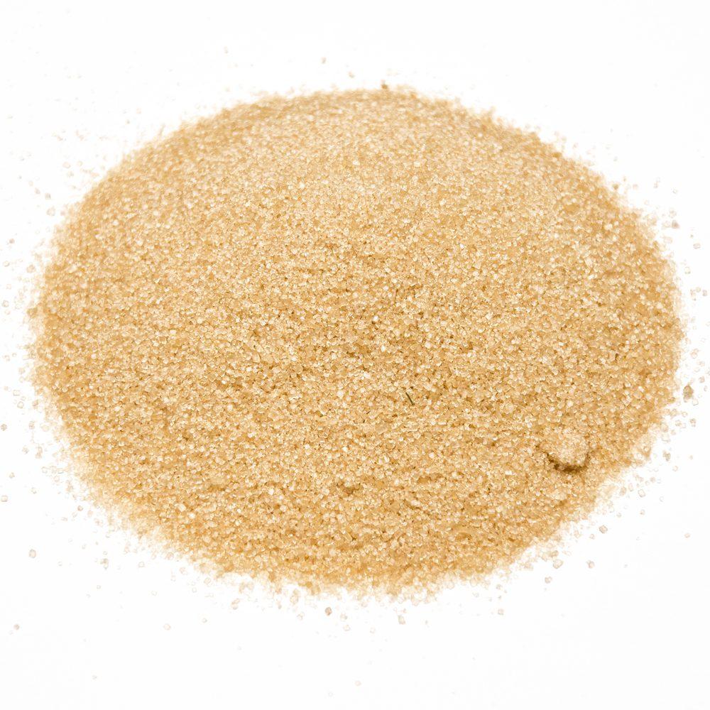 Сахар коричневый необработанный